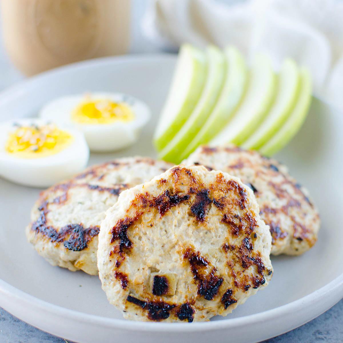 Paleo Chicken Apple Breakfast Sausage Recipe