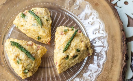 Ham Asparagus Scones Photo