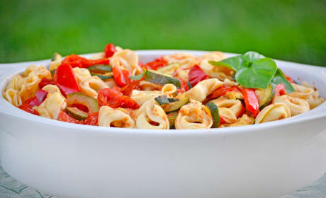 Roasted Vegetable Tortellini Recipe