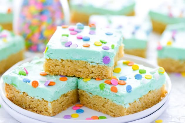 Gluten Free Sugar Cookie Bars Image