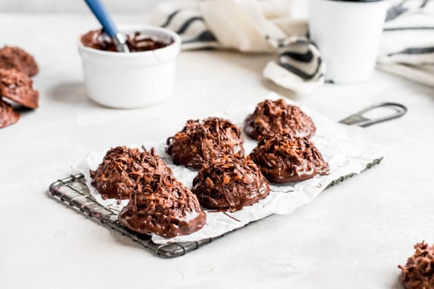 Double Chocolate Macaroons Photo