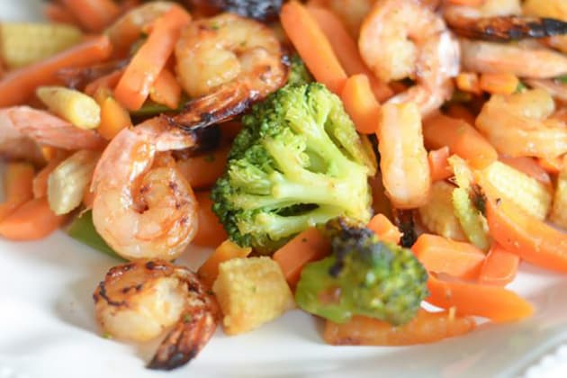 File 4 Gluten Free Air Fryer Honey Garlic Shrimp
