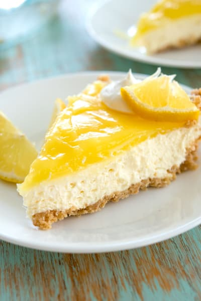 Lemon Cream Cheese Pie Image