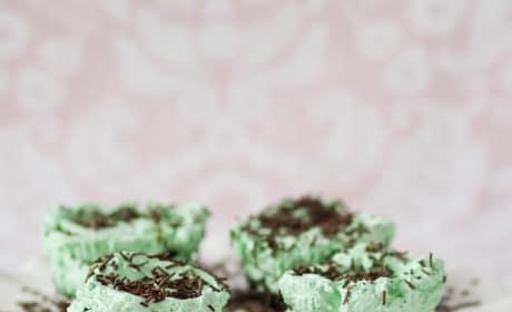 Mint Chocolate Ice Box Cupcakes Pic