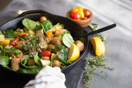 Paleo Sausage Vegetable Skillet