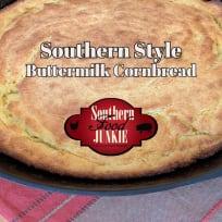 Southern Style Buttermilk Cornbread