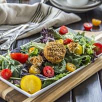 Tomato Goat Cheese Salad Recipe