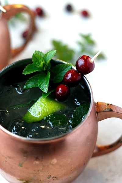 Cranberry Mule Picture