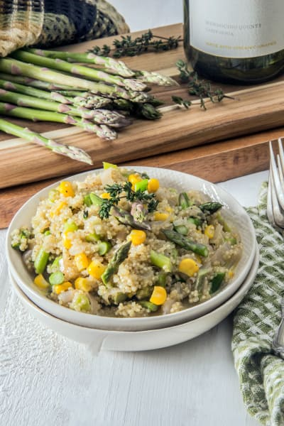 Quinoa Risotto with Asparagus Picture