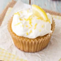 Lemon Olive Oil Cupcakes Recipe