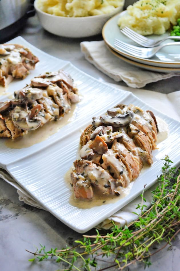 Instant Pot Turkey Tenderloin with Mushroom Gravy Picture