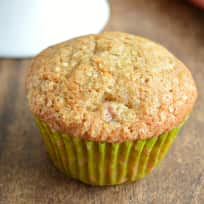 Ginger Rhubarb Muffins Recipe