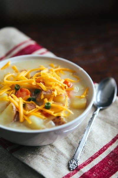 Cheddar Potato Soup Picture