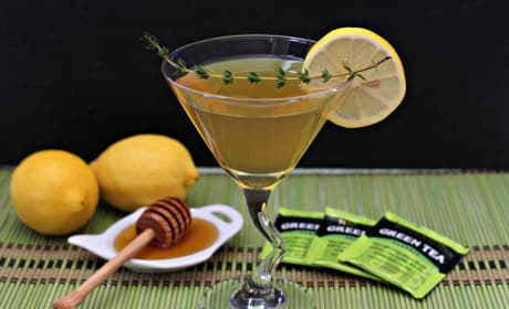 Green Tea Martini Recipe