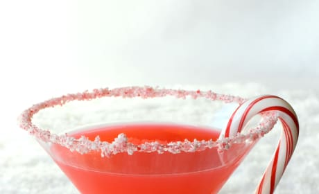 Candy Cane Martini Picture