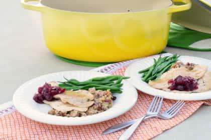 Turkey Tenderloin Dinner: One Pot Thanksgiving for Two