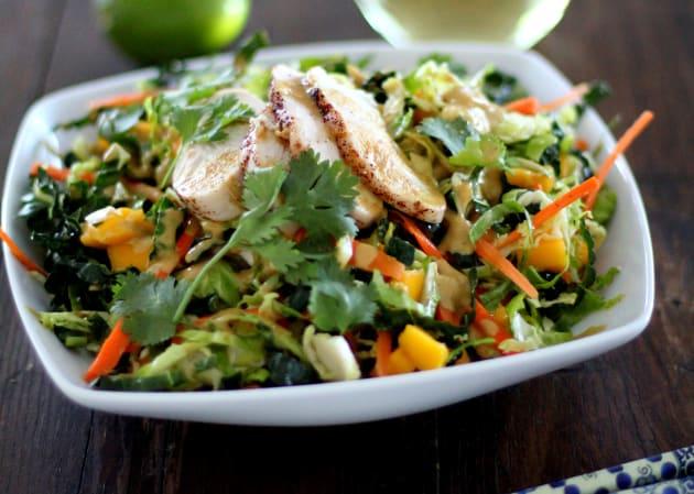 Thai Chopped Chicken Salad Photo