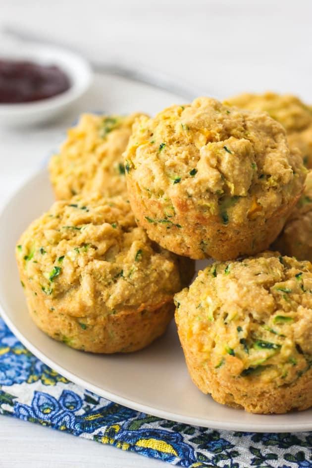 Zucchini Cornbread Muffins Pic