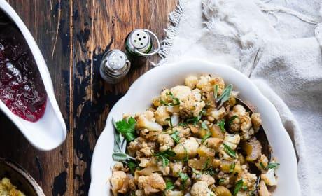 Cauliflower Rice Stuffing Pic