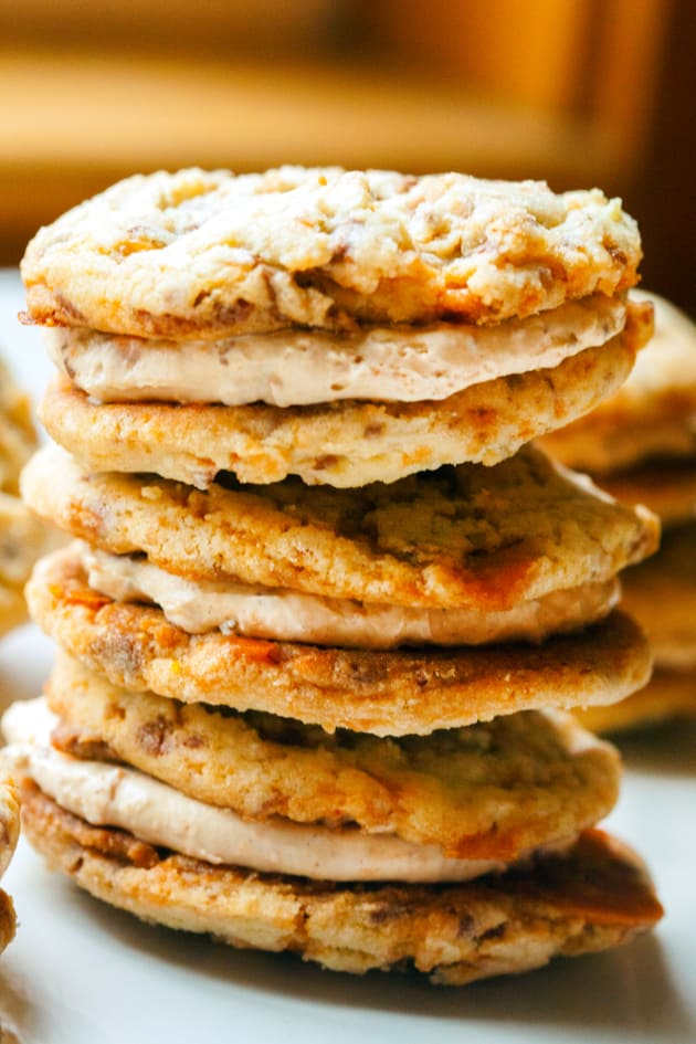 Butterfinger Cookie Sandwiches Picture