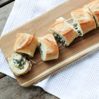 Spinach Artichoke Dip Stuffed Bread Recipe