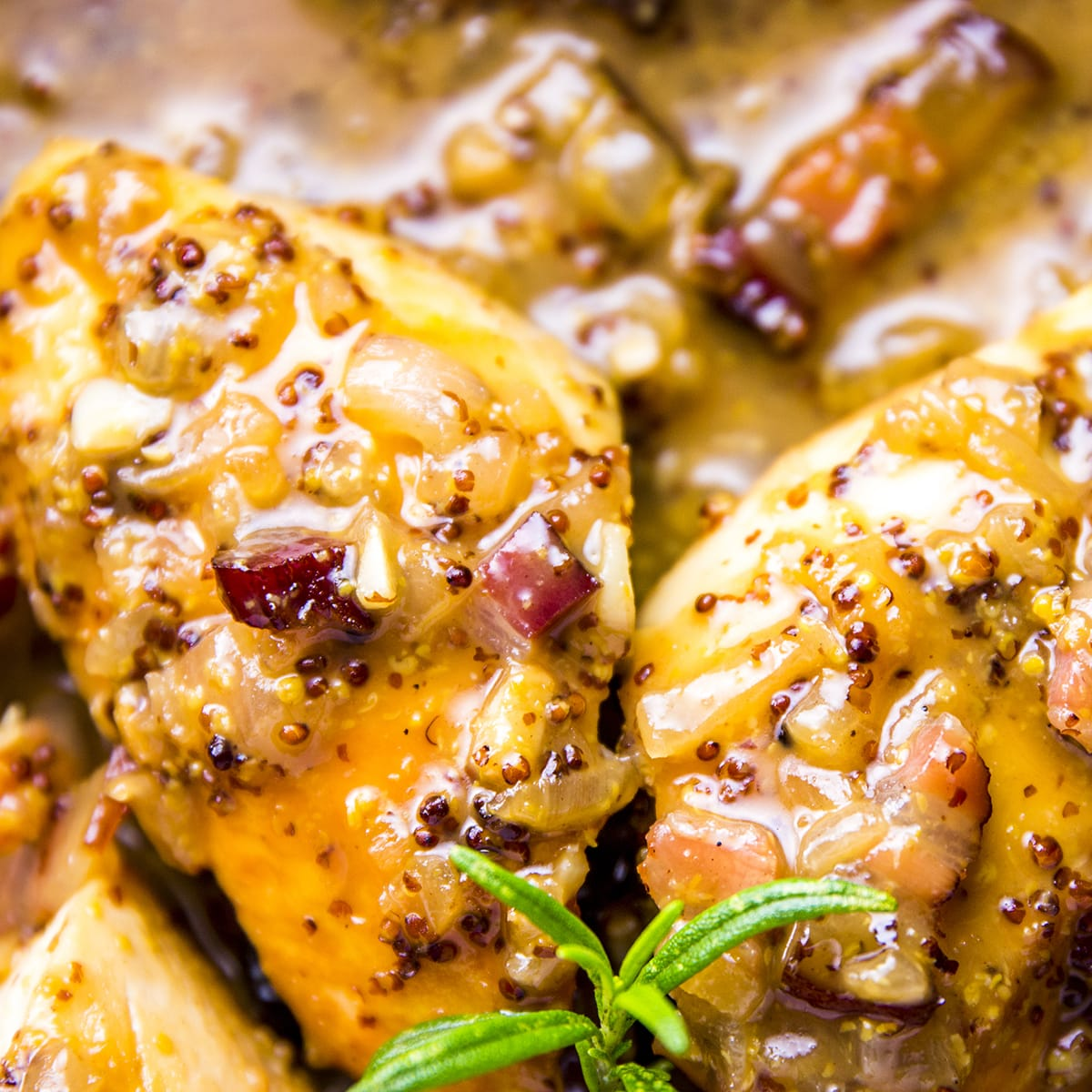 Honey Mustard Chicken With Bacon Recipe Food Fanatic