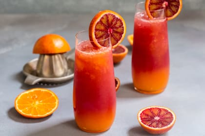 Winter Tequila Sunrise