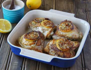 Baked Rosemary Chicken: Winner, Winner, What a Great Dinner!
