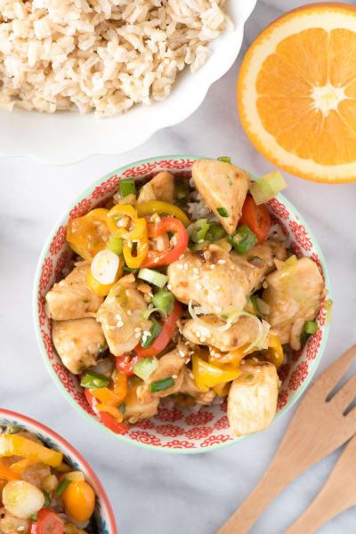 Spicy Ginger Chicken Stir Fry Picture
