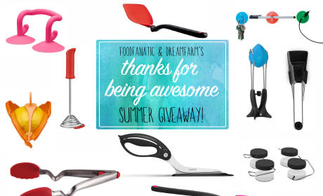 Food Fanatic & Dreamfarm's Summer Giveaway of Awesome