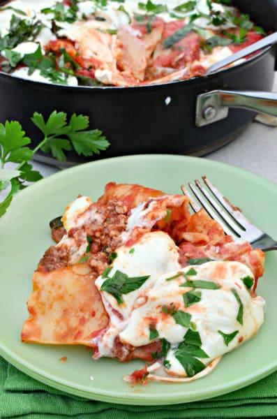 One Pot Lasagna Pic