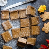 Gingerbread Coffee Vegan Cheesecake Bars Recipe
