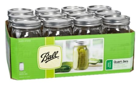 Ball Canning Jars - Wide Mouth