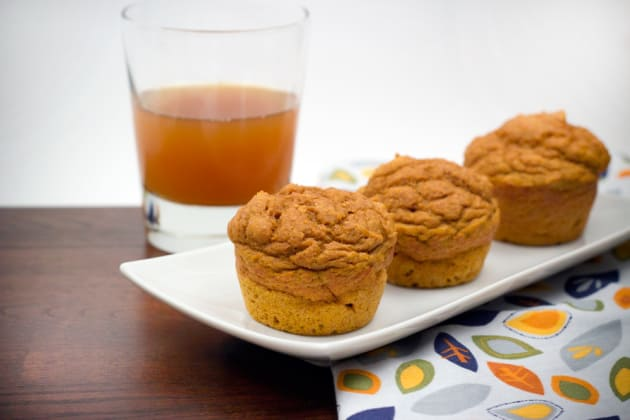 Whole Wheat Pumpkin Muffins Picture