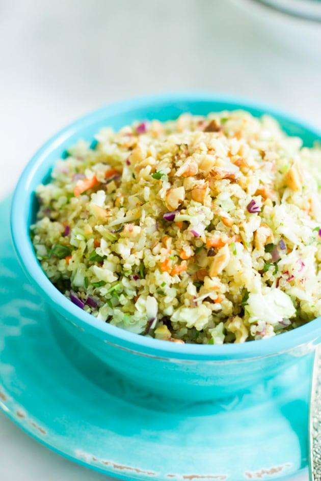 Quinoa Cabbage Salad Image