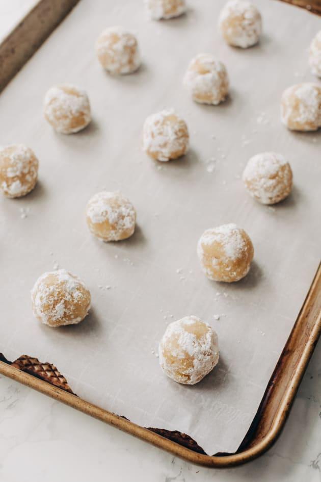 Easy Gluten Free Lemon Crinkle Cookies Recipe Image