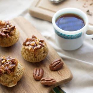 Sticky bun muffins photo
