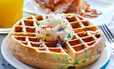 Funfetti Waffles Recipe