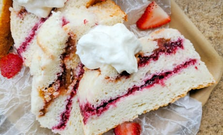 Angel Food Jam Cake Photo