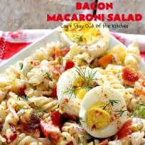 Bacon Macaroni Salad