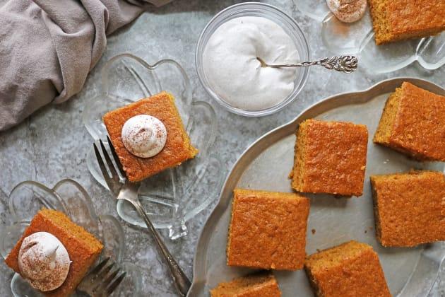 Easy Gluten Free Pumpkin Spice Cake Photo