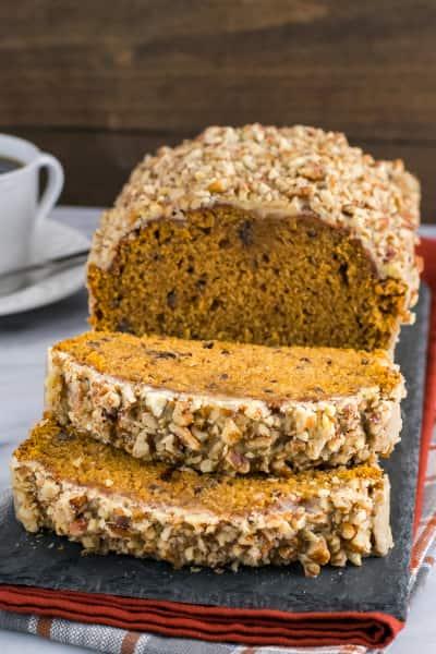 Pumpkin Pecan Bread Picture