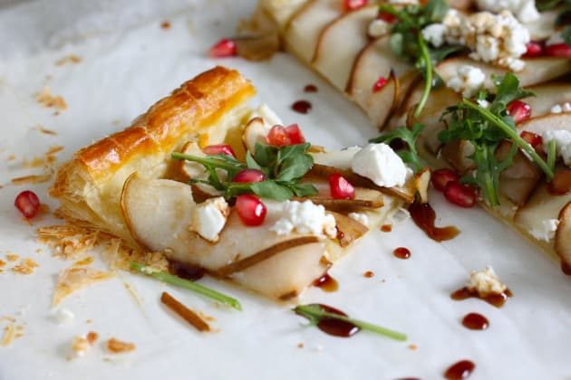 Pear and Goat Cheese Tart Image