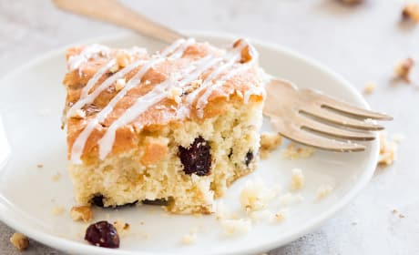 Cranberry Walnut Coffee Cake Recipe