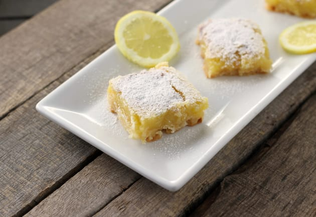 Gluten Free Lemon Bars Picture