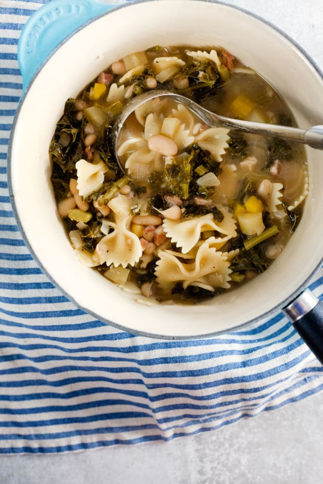 White Bean and Kale Soup Image