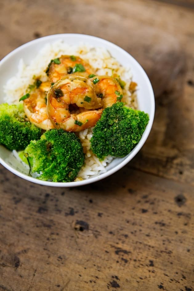 Shrimp Bowl with Rice