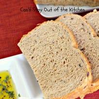 Whole Wheat Greek Bread