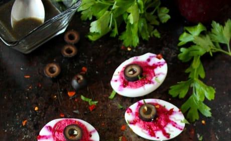 Deviled Egg Eyeballs Image