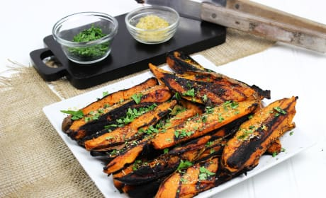 Grilled Sweet Potatoes Image
